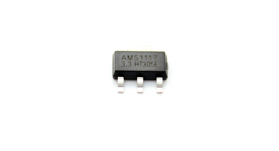 AMS1117 3.3V 0.2A SOT-23 Voltage Regulator (10-Pack) AMS1117 Voltage Regulator, 10-Pack