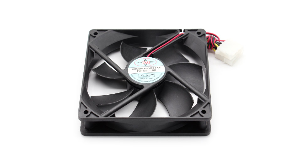 4-Pin Computer PC Case Cooling Cooler Fan
