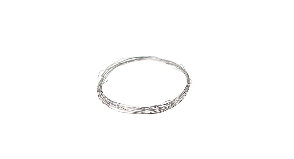 Image of Replacement Nichrome Resistance Wire for E-Cigarette (1M)