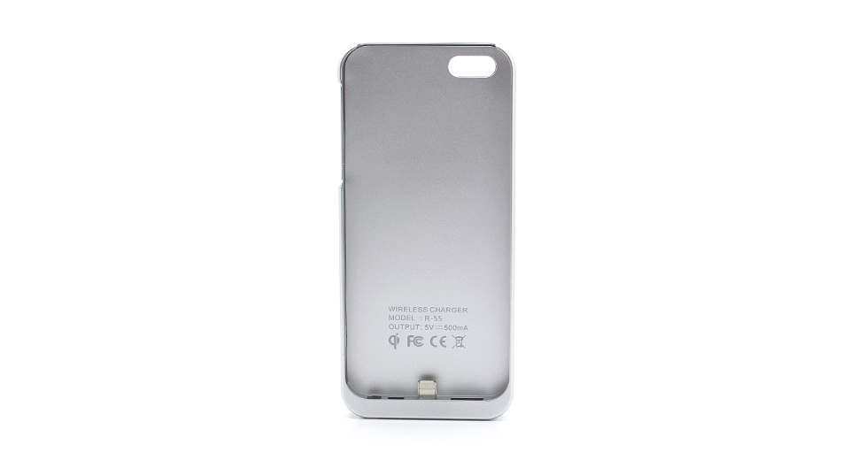 Qi Inductive Wireless Charging Sleeve for iPhone 5