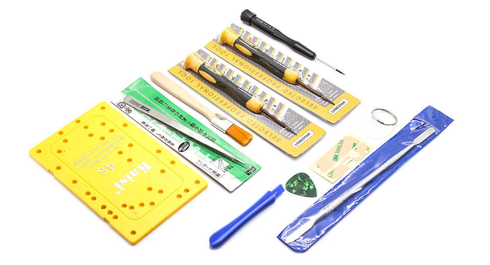 Image of 12 Pieces Disassembling and Repair Tools Kit