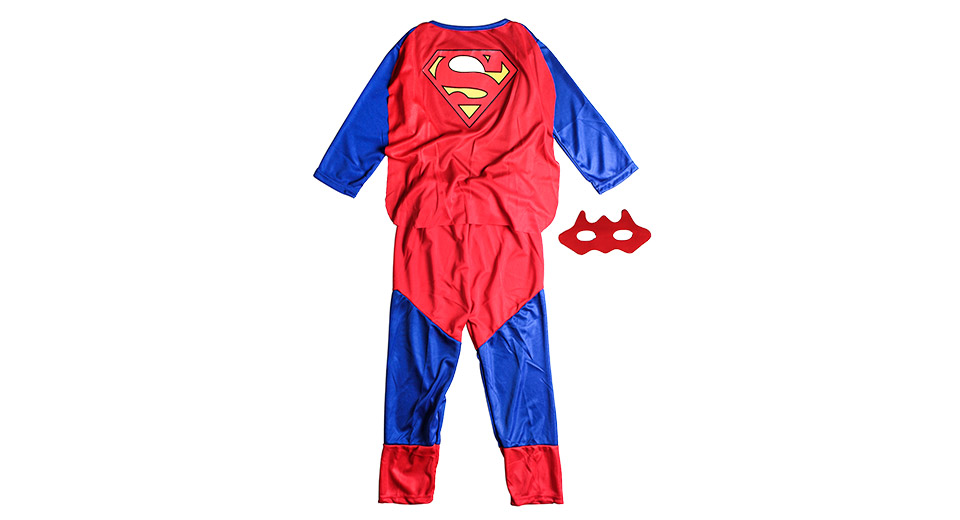 Image of Amazing Superman Trick Cosplay Costume for Halloween