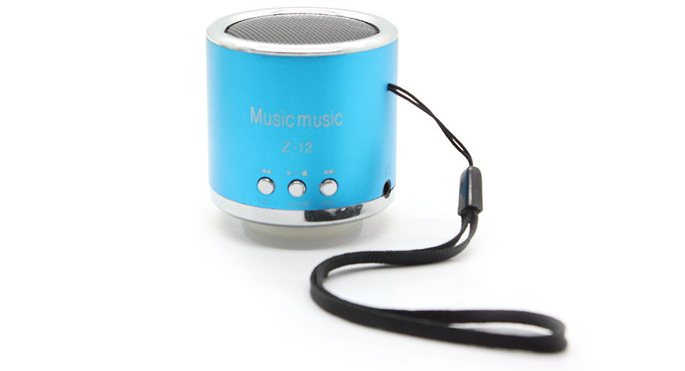 Product Image: z-12-rechargeable-mini-speaker-w-fm-transmitter