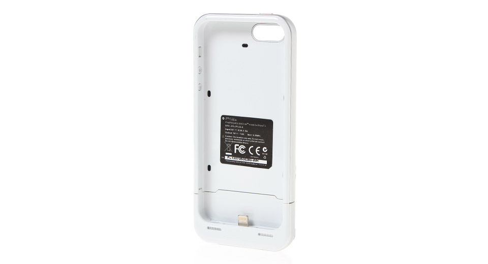 Rechargeable 2100mAh External Battery Back Case for iPhone 5