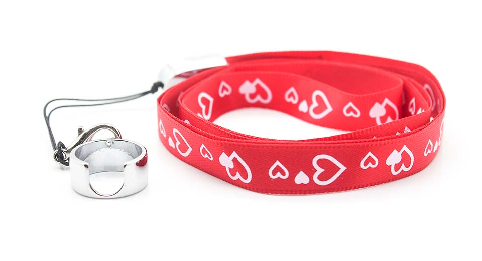 eGo Lanyard w/ Ring Clip for E-Cigarette