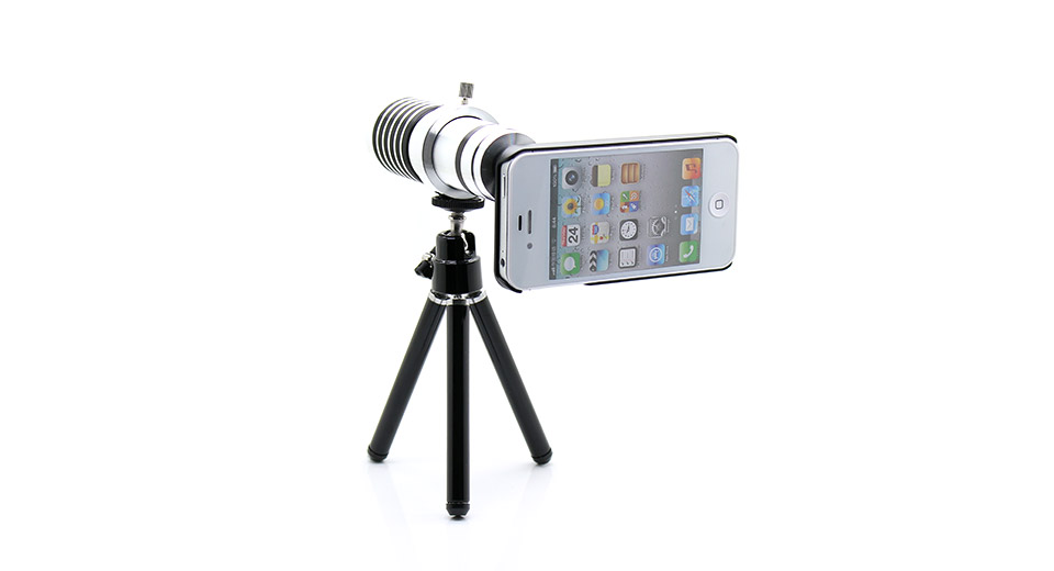 Image of 14X Optical Zoom Telephoto Lens for iPhone 4/4S