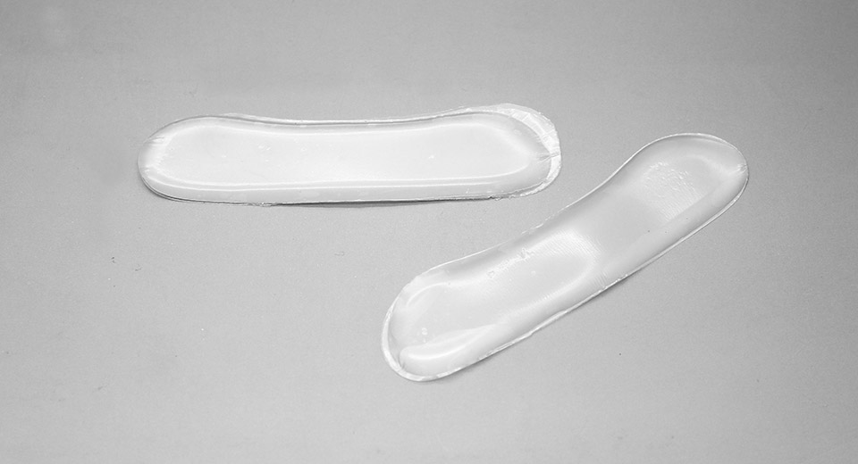 Strong Suction Silicone Gel Heel Lining Cushion