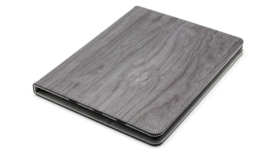 Protective PU + PVC Flip-Open Leather Case for iPad 4