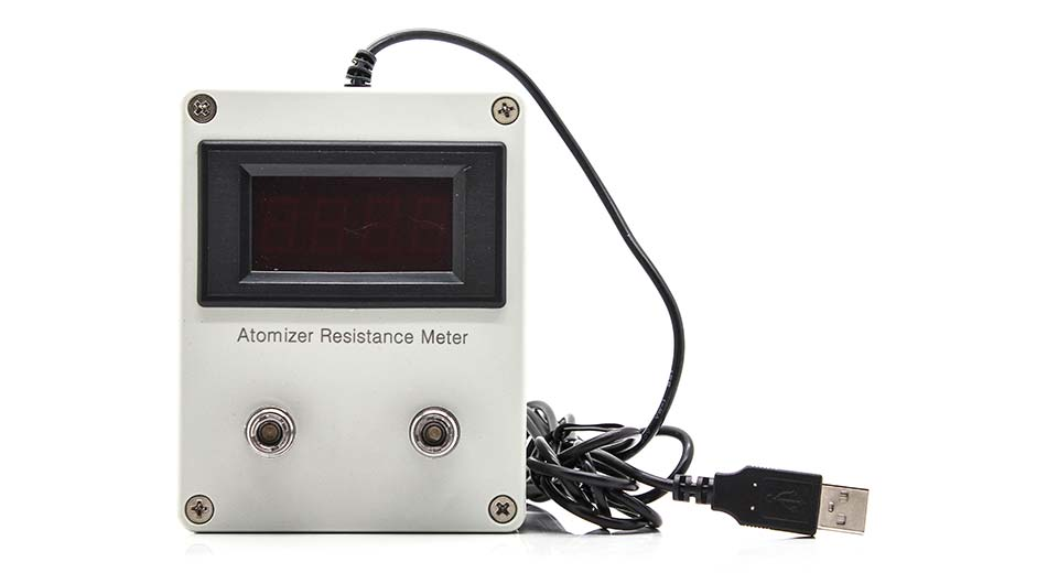 USB Powered Atomizer Resistance Tester (Ohm Meter)