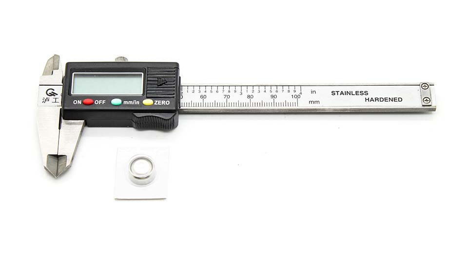 Stainless Steel 1.2 LCD Digital Caliper (100mm / 4-inch)
