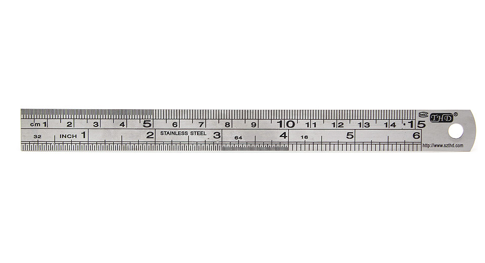 Product Image: mini-stainless-steel-ruler-15-0cm-6-inch