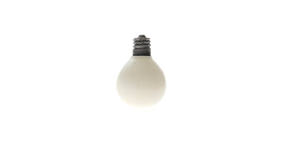 Stress-Reliever Light Bulb Style Squeeze Toy