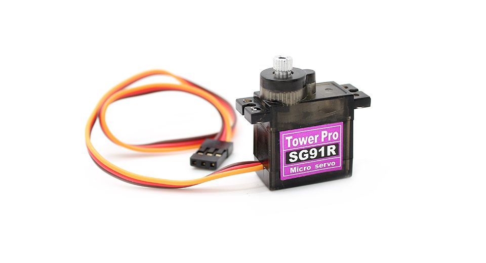 Tower Pro SG91R Analog Torque Servo for R/C Helicopter