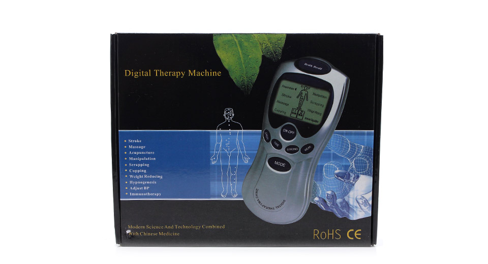 Image of 2-inch LCD Digital Therapy Massager