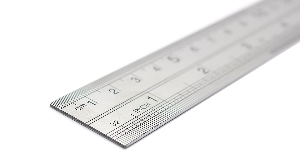mini stainless steel ruler 12 inch resolution at fasttech worldwide. Black Bedroom Furniture Sets. Home Design Ideas