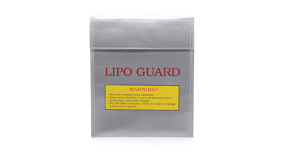 Image of 180mm*230mm Fireproof Safety Guard Protective Bag for Li-Polymer Battery