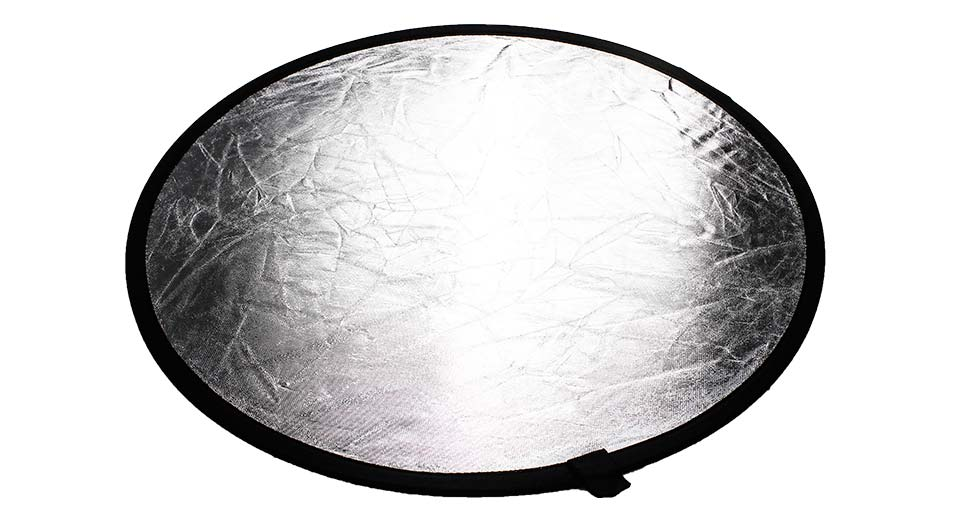 60cm Double-Faced Collapsible Light Reflector
