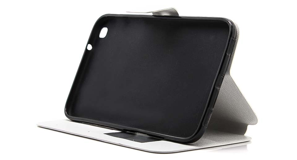 """Protective PU + TPU Flip-open Stand Case for Samsung Galaxy Tab 3 8.0"""" T3110"""