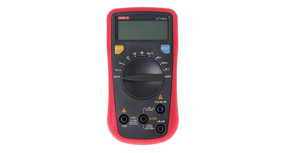 UNI-T UT136A 1.9 LCD Handheld Digital Multimeter