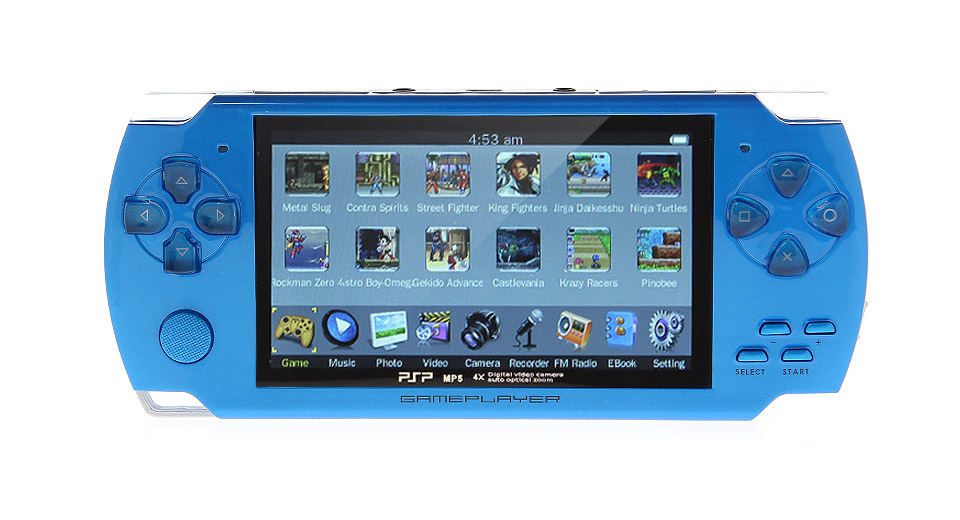 4.3 Game Console MP5 Media Player (8GB)