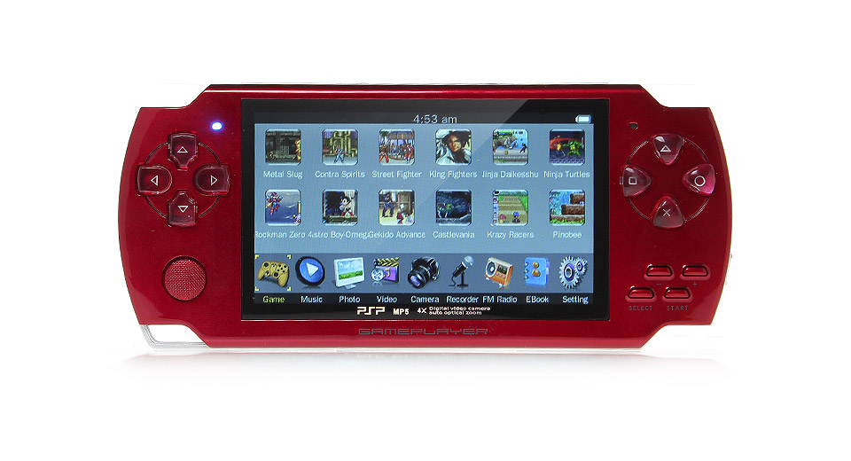 4.3 Game Console MP5 Media Player (4GB)