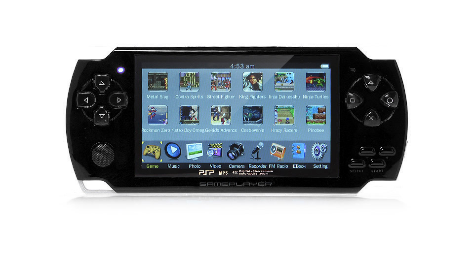 "Image of 4.3"" Game Console MP5 Media Player (8GB)"
