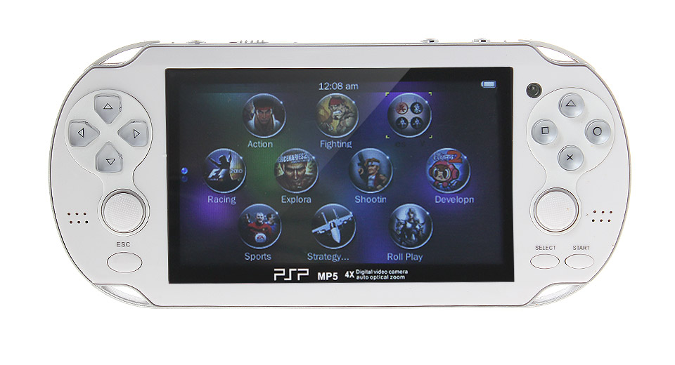 "Image of 4.3"" Portable Game Console MP5 Media Player (4GB)"