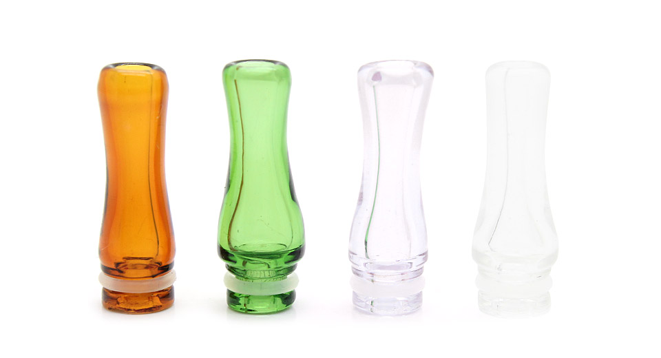 Pyrex Glass 510 Drip Tips (4-Pack)
