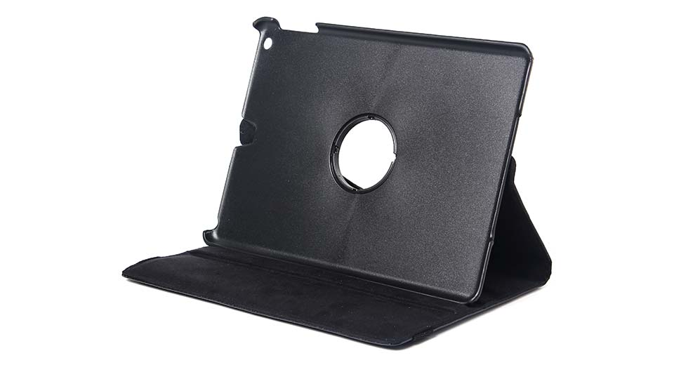 Image of 360 Degree Rotatable Protective PVC + PU Case for iPad Air