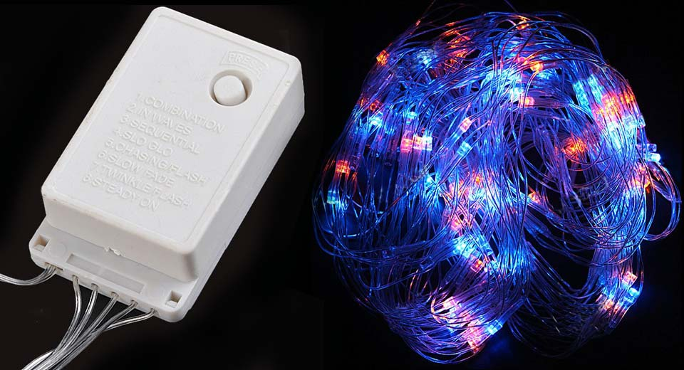 Decorative 120-LED Fairy Net Lights for Wedding / Christmas Party
