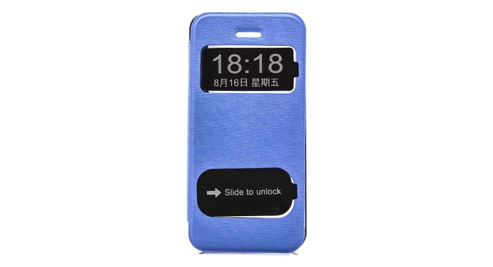 Protective PU + PC Flip-open Case for iPhone 5c