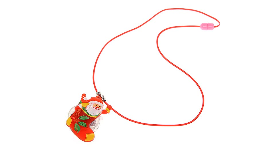 Image of Battery Powered Glowing Multicolor LED Necklace