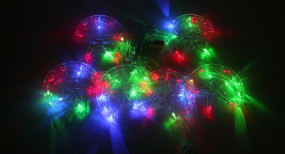 Christmas Party Decorative 6-LED String Fairy Lights (3m)