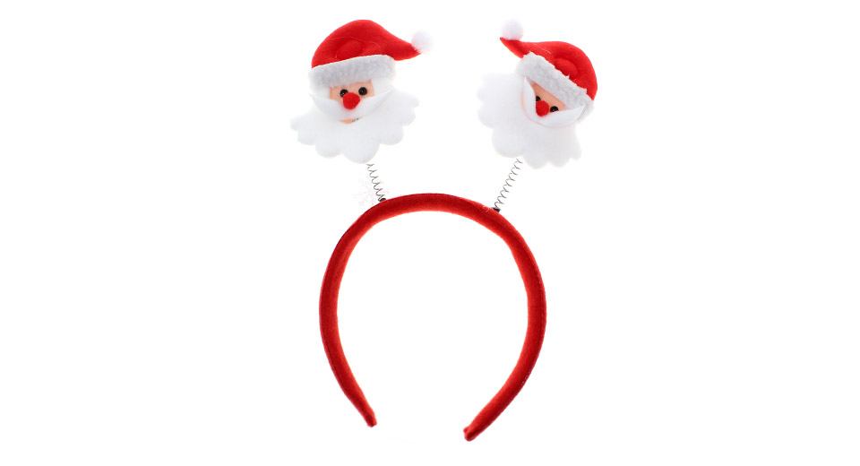 Christmas party decoration headband hair band santa claus style