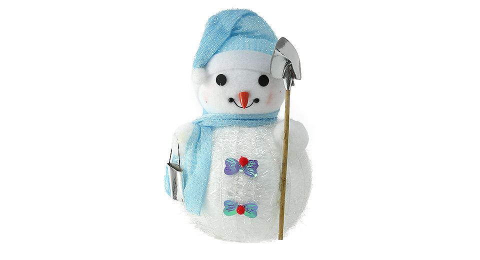 Festive Christmas Decoration Snowman Figure Toy Doll