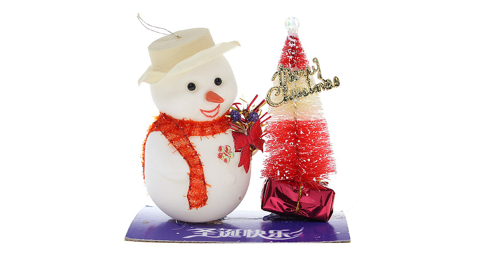 Lovely Snowman Doll Christmas Gift Pendant Decoration