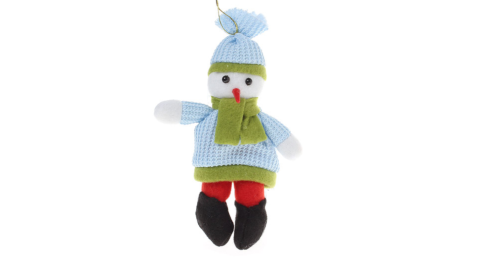 Lovely Knitted Snowman Doll Christmas ...