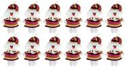 Buy Lovely Knitted Santa Claus Doll Christmas Gift Pendant Decoration (12-Pack) Santa Claus, 12-Pack for $9.77 in Fasttech store