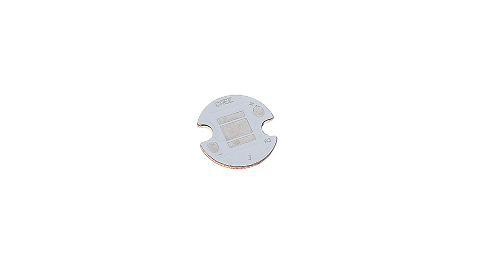 14mm Copper Base Plate for Cree XM-L / XM-L2 LED Emitters