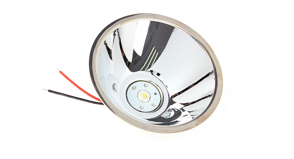 78mm Aluminum Smooth/SMO Reflector w/ Emitter and Driver Board