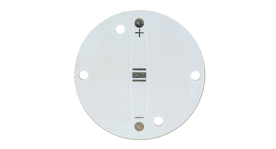 34mm Aluminum Base Plate for Cree XP-G / XP-E C-Series LED Emitters