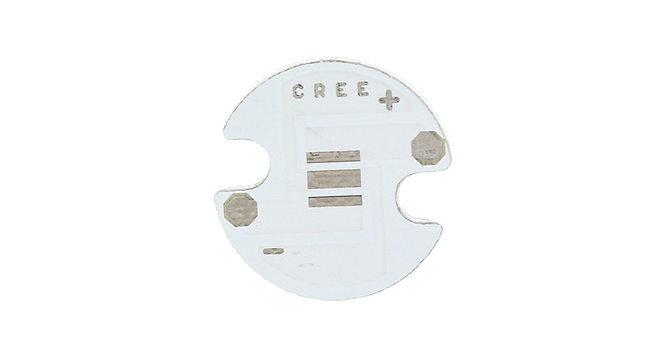 16mm Aluminum Base Plates for Cree XP-G / XP-E C-Series LED Emitters (10-Pack)
