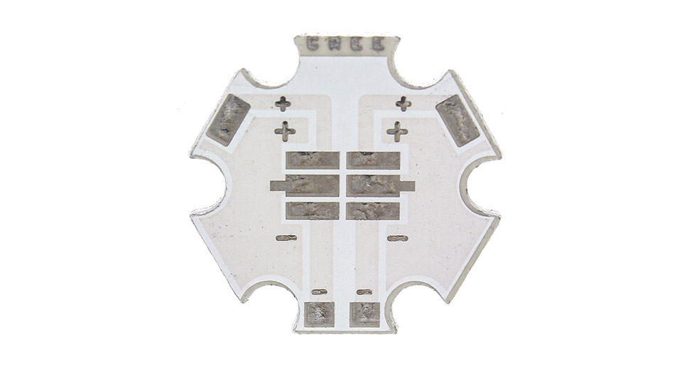 20mm Aluminum Base Plates for Cree XP-G / XP-E C-Series LED Emitters (10-Pack)