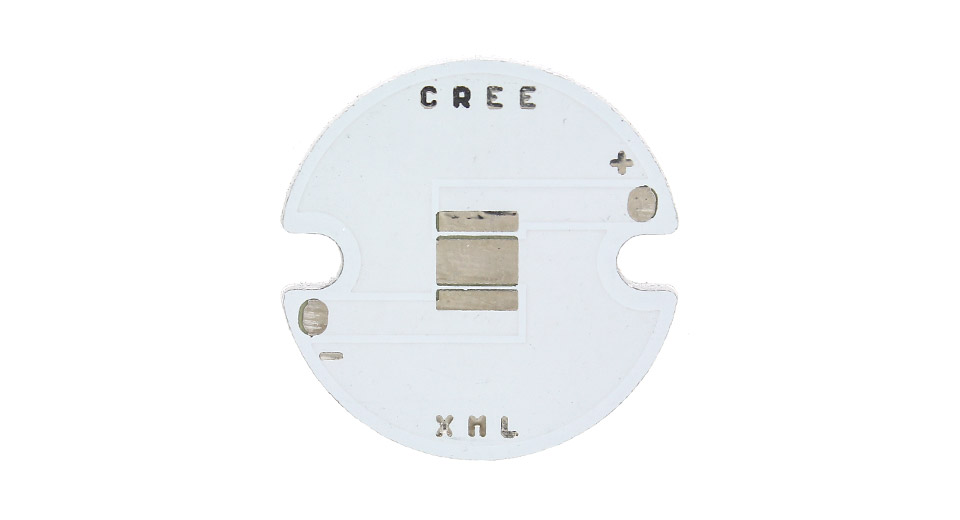 25mm Aluminum Base Plates for Cree XM-L Series LED Emitters (10-Pack)