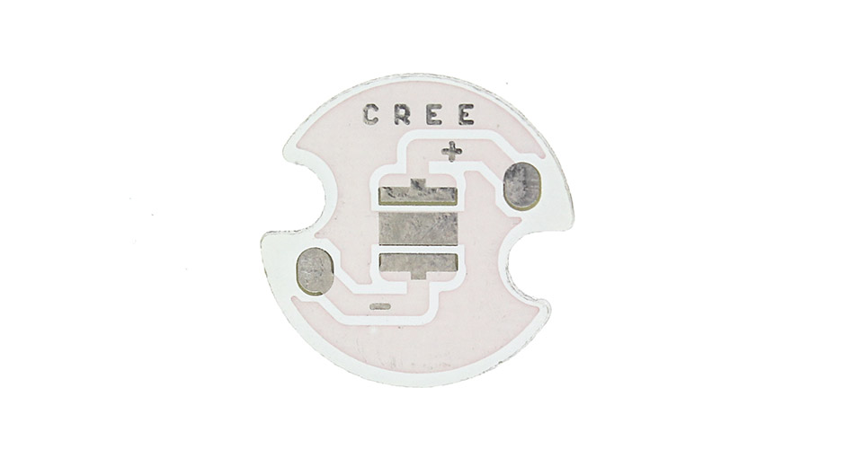 14mm Aluminum Base Plates for Cree XP-G / XP-E C-Series LED Emitters (10-Pack)