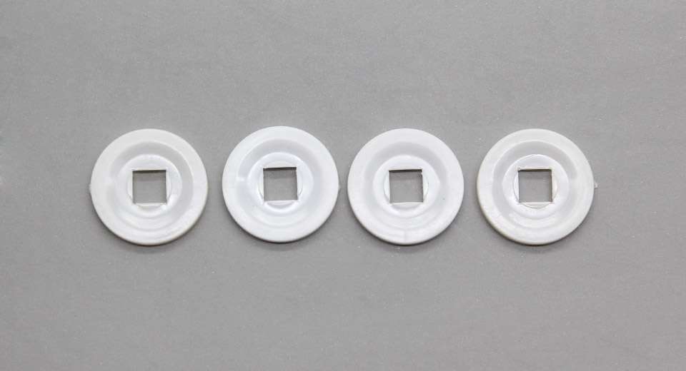 Image of 17.5mm Insulating Locator for Cree XM-L T6/U2 LED Emitters (4-Pack)