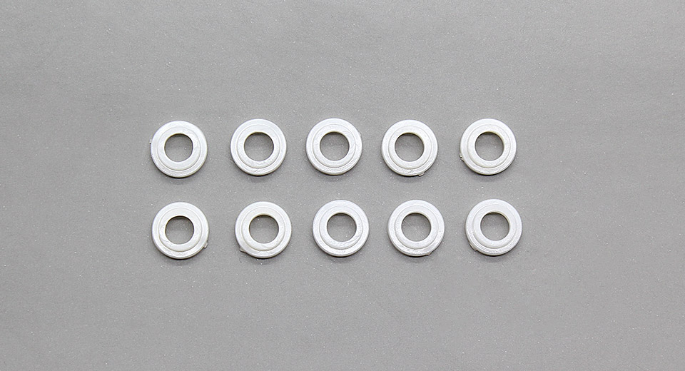 Image of 9mm Plastic Insulation Gaskets for Cree XM-L T6 Emitters (10-Pack)