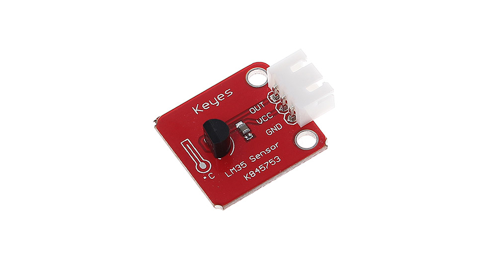 1585706 Keyes 3 Pin Lm35 Analog Temperature Sensor Module on active piezo buzzer module