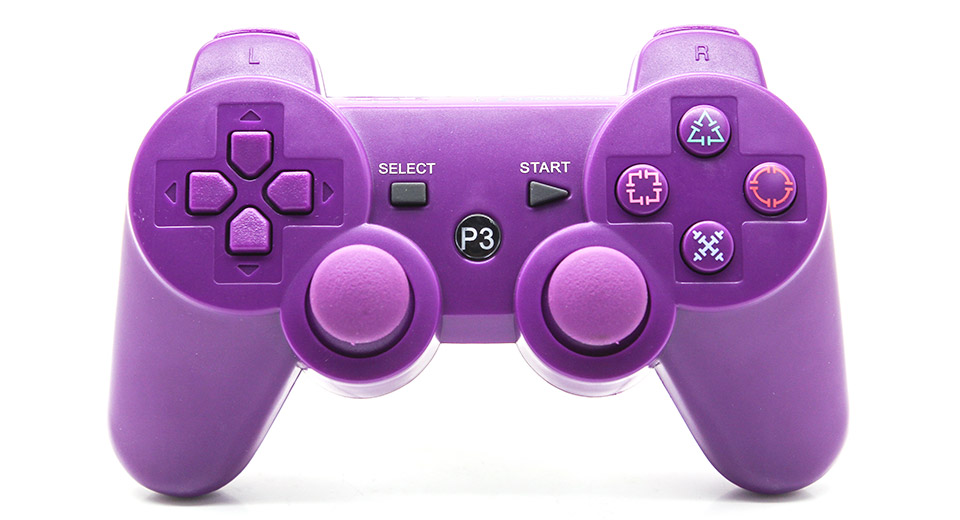 Purple Ps3 Controller Controller for PS3  PS3