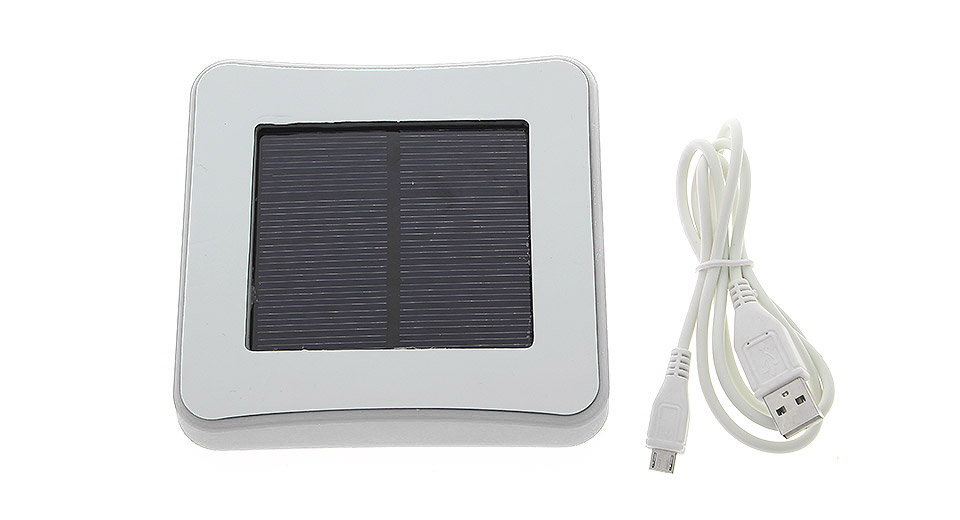 Image of Stick-on-Window Solar Powered Power Bank (1800mAh)